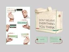 tarjetas, etiquetas colgantes & bolso